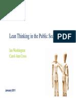 Lean in Public Services