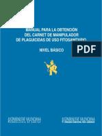 Manual Carnet de Plaguicidas