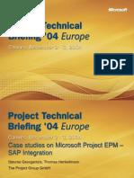 Case Studies EPM-SAP Integration PTB04 SG