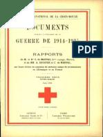 Rapport de M. le lieutenant-colonel Dr C. de Maraval sur sa visite aux dépôts de prisonniers de guerre allemands au Maroc