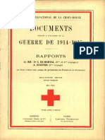 Rapport de M. le conseiller national A. Eugster sur sa visite à 19 dépôts de prisonniers de guerre en Allemagne