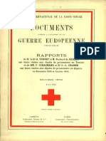 Rapport de M. le Dr Vernet et M. Richard de Muralt sur leurs visites aux dépôts de prisonniers en Tunisie