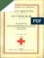 Rapport de MM. le Dr René Guillermin et Capitaine de Stockar sur leur visite des camps de prisonniers et d'internés civils en Roumanie (Moldavie)