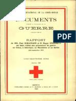 Rapport de MM. Paul Schazmann et Dr Roger Steinmetz sur leurs visites aux prisonniers de guerre en Grèce, à Salonique, en Macédoine et en Serbie