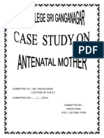 Antenatal Mother