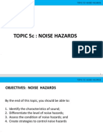 Noise Hazards