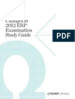 Erp Study Guide Changes