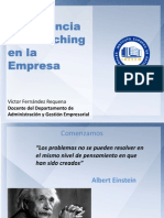 Importancia Coaching Empresa