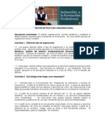 Definicion Estructura Organizacional SENA