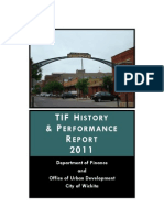TIF History and Performance Report, Wichita 2011