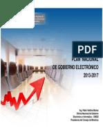 Plan Nacional de Gobierno Electronico