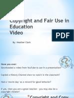 hclark copyright in education