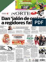 Periódico Norte edición del día viernes 27 de junio de 2014