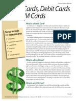 Creditcards Eng