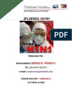 Ah1n1 Virus Influenza Gripe Porcina