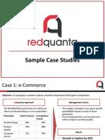 Redquanta_Sample Case Studies