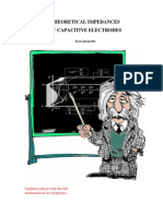 Theoretical Impedance of Capacitive Electrodes