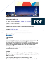 Graduate Architect Jobs in Atkins Middle East in Dubai - United Arab Emirates - Naukrigulf