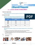 Reaching The Hispanic Consumer