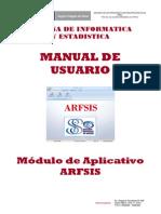 04 Manual Usuario Modulo ARFSIS Plataforma Desktop