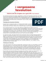 Guidonobo, Jorge - Die Vergessene Revolution (Bolivien 1952)