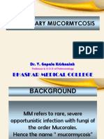 Mucormycosis - New 22.10.2013.