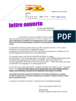 Lettre DRH - Incident CFDT