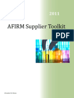 A Firm Supplier Toolkit
