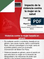 6. Impacto de La Violencia Contra La Mujer en La Salud -MINSA