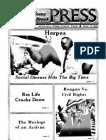 The Stony Brook Press - Volume 4, Issue 1