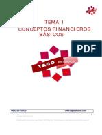 Tema 1 Conceptos Financieros Basicos