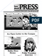 The Stony Brook Press - Volume 4, Issue 2