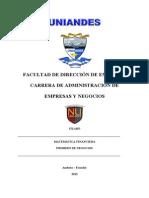 SILABO MATEMÁTICA FINANCIERA