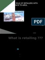 13853095 Marketing Presentation on AMUL Retailers
