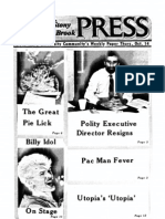The Stony Brook Press - Volume 4, Issue 5