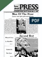 The Stony Brook Press - Volume 4, Issue 8