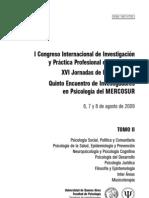 I Congreso Internacional de Investigación y Práctica Profesional en Psicología - Memorias Tomo 2