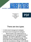 Bond Management Strategies