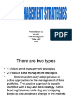 Bond Management Strategies