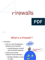 Firewalls and Packet Filters