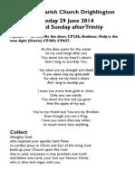 Peter and Paul, apostles