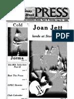 The Stony Brook Press - Volume 4, Issue 15