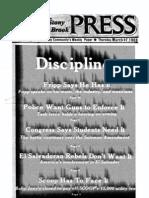 The Stony Brook Press - Volume 4, Issue 19