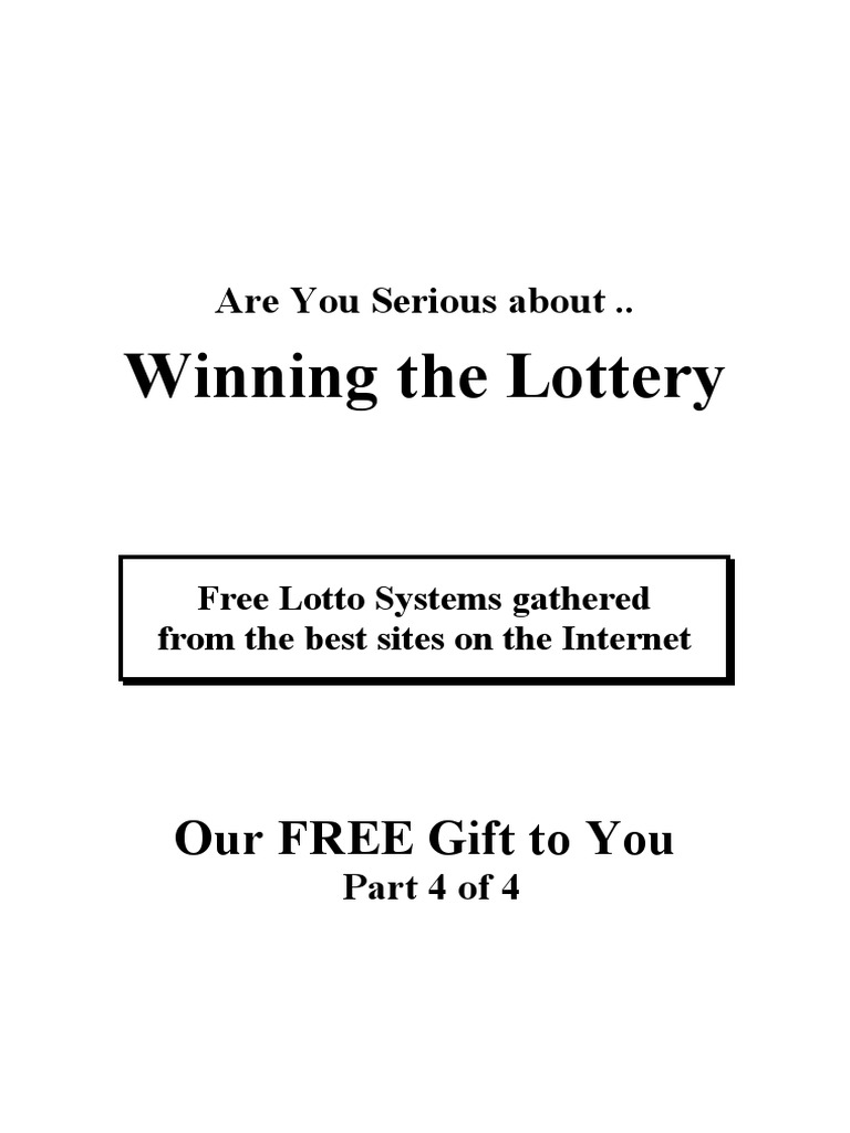 Free Lotto Systems 4 | Lottery | Gambling Games