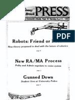 The Stony Brook Press - Volume 4, Issue 21