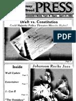 The Stony Brook Press - Volume 4, Issue 22