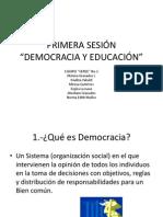 PRIMERA SESIÓN-gestión Democrática