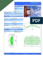 Antena BSat Par Vaz 2,4GHz 24dBi 0,6m PVS2500-10