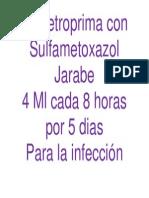 Para La Infeccion Intestinal