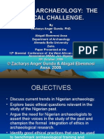 Nigerian Archaeology